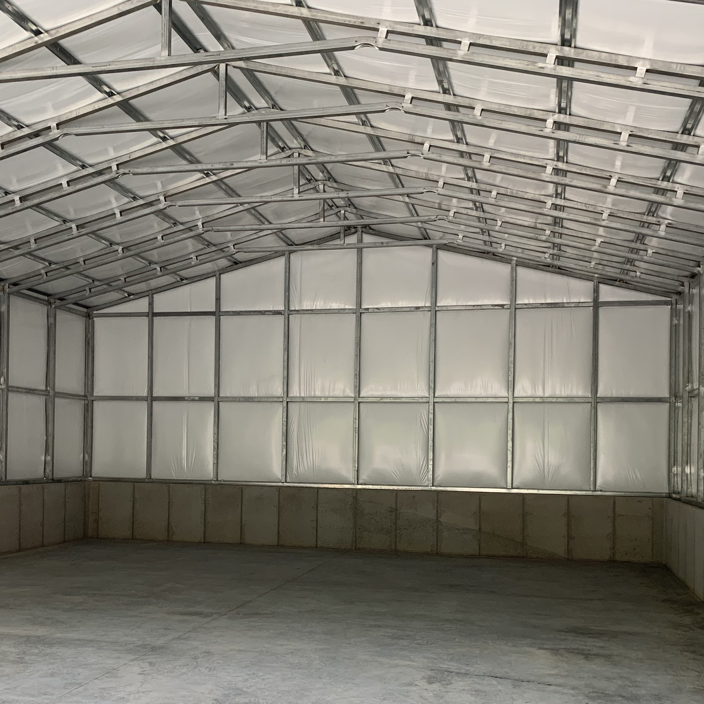 Insulated Metal Outdoor Storage Building Stallings NC
