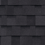 Dual Black Shingles For Storage Shed