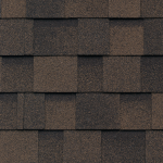 Dual Brown Shingles For Storage Shed