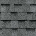 Dual Grey Shingles For Storage Shed