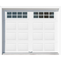 Shed with Garage Door - Stockton