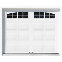 Shed with Garage Door - Summerton
