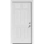 Prehung single Door