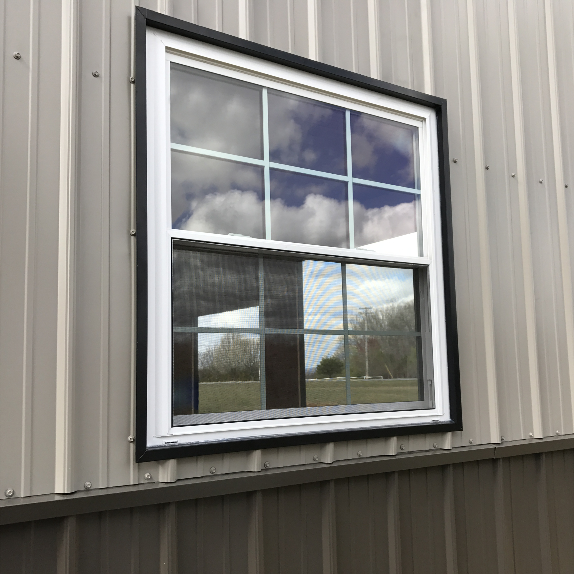 Metal Outdoor Storage Shed With Windows